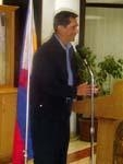 As Special Envoy to the Middle East (taken during his visit at Philippine Embassy in Riyadh)