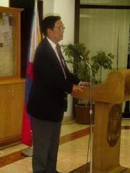 DFA Usec. Rafael Seguis (Former Philippine Ambassador to Saudi Arabia)