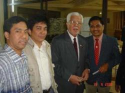 Ranie Basanta, BangA, Ambassador Tony Villamor & Bioux Manilum