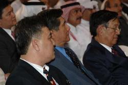 OFWC Pres. Alex Bello, Special Envoy to ME Roy Cimatu, DFA Usec Rafael Seguis