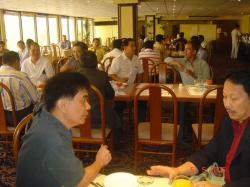 with Francis Oca discussing the proposed OFW Bank