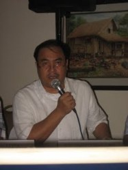 Former Labor Attache Atty. Jalilo Dela Torre (now DOLE XI regional director)