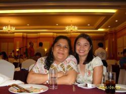 Ms. Ellene Sanna & My Wife Minda Amora