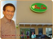 Mike Bolos and his Bay Spa