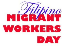 Filipino Migrant Workers Day