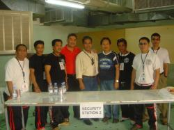 4)	Black Python Marshals w/ Alex V. Bello & Francis Oca (cencter) At Center Grandmaster & Founder Boy Macion