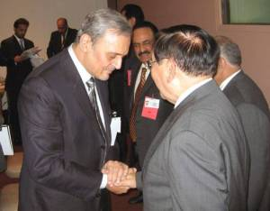 2007 UNITED NATIONS— Foreign Affairs Secretary Alberto G. Romulo and His Royal Highness Prince Saud Al-Faisal reaffirm the Philippines and the Kingdom of Saudi Arabia 's firm commitment to strengthen friendly and cooperative ties, particularly in trade and investment, the peace process in the Southern Philippines , migration and inter-regional cooperation.  Secretary Romulo and Prince Saud Al-Faisal met following the ASEAN-Gulf Cooperation Council (GCC) Meeting held at the sidelines of the 62nd UN General Assembly. The ASEAN-GCC strongly supported a proposal made by Secretary Romulo for ASEAN and GCC senior officials to begin discussions on formal linkages as well as specific projects for the ASEAN and GCC foreign ministers to consider at their next meeting.