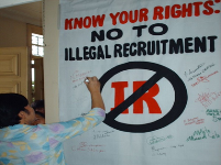 No to Illegal Recruitment