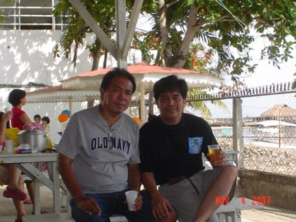 "with Alang-Alang Councilman Marianito ""Aning"" Soon"