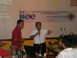 Engr. Doods Amora IIEE former Region 7 Governor and now Member of IIEE National Board