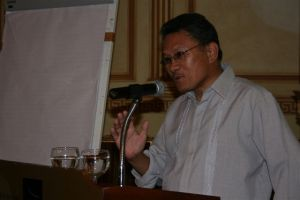 Engr. Eli Mua (President-Union of Muslim Associations & Nat'l. Chair - United OFW)