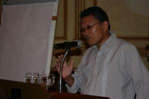 Engr. Eli Mua (President-Union of Muslim Associations & Nat'l. Chair - United OFW)