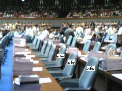 OFW Representation in Congress