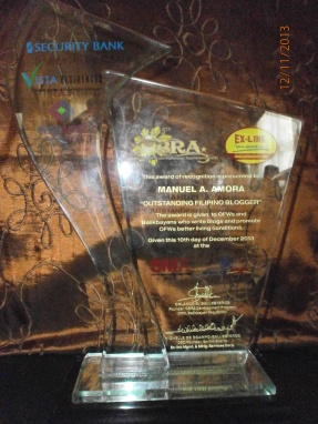 2013 Outstanding Balikbayan Reputation Award)