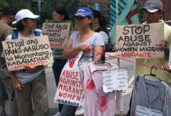 Migrante at DFA