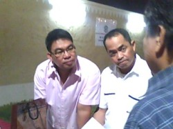 NKSAI Pres. Ric Casil (glasses) & Jun Exclamador