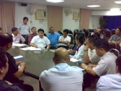 FILCom Leaders meeting In Eastern Region was facilitated by Labor Attache David Des Dicang