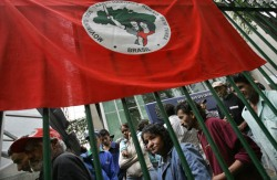 2007 demonstration by Brazil's Landless Workers' Movement