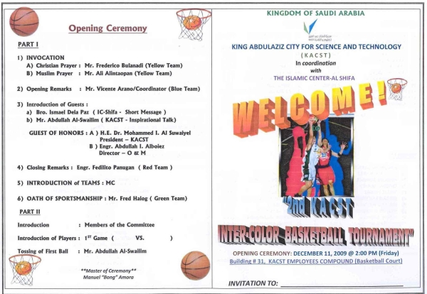 Basketball tournament program template gallery template for Basketball tournament program template