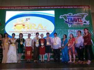 OBRA 2013 Awardees