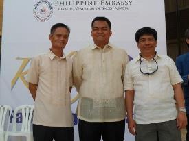 with Consul Reyes & Mario Ben (KGS)