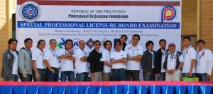 Filipino Architects at the Philippine Embassy during December 2010, Arki Board Exams (Photo by Architect Denick Carullo)