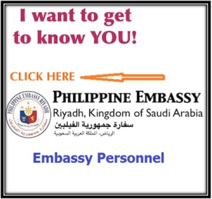 Know your Philippine Embassy and Consulate Officials