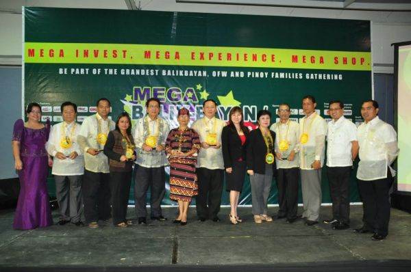 5th Outstanding OFW and Balikbayan Reputation Award or OBRA Awardee of YEAR 2012