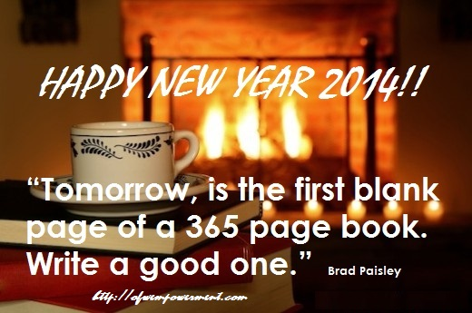 HAPPY NEW YEAR 2014!!