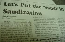 Saudization