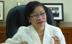 Philippine Labor Secretary Erlinda Dimapilis-Baldoz