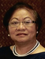 Ougoing DOLE Secretary Rosalinda Baldoz